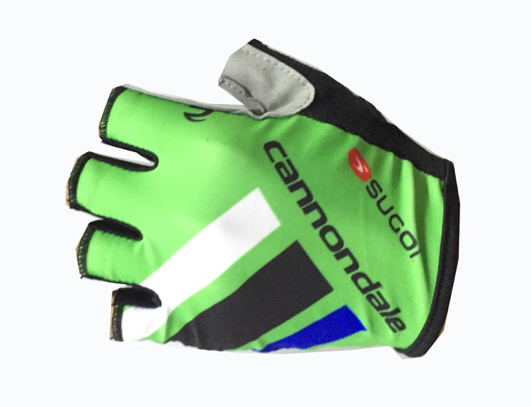 Cannondale Unisex Men Women Bike Cycling Gloves Half Finger Bicycle Racing Pro Gloves