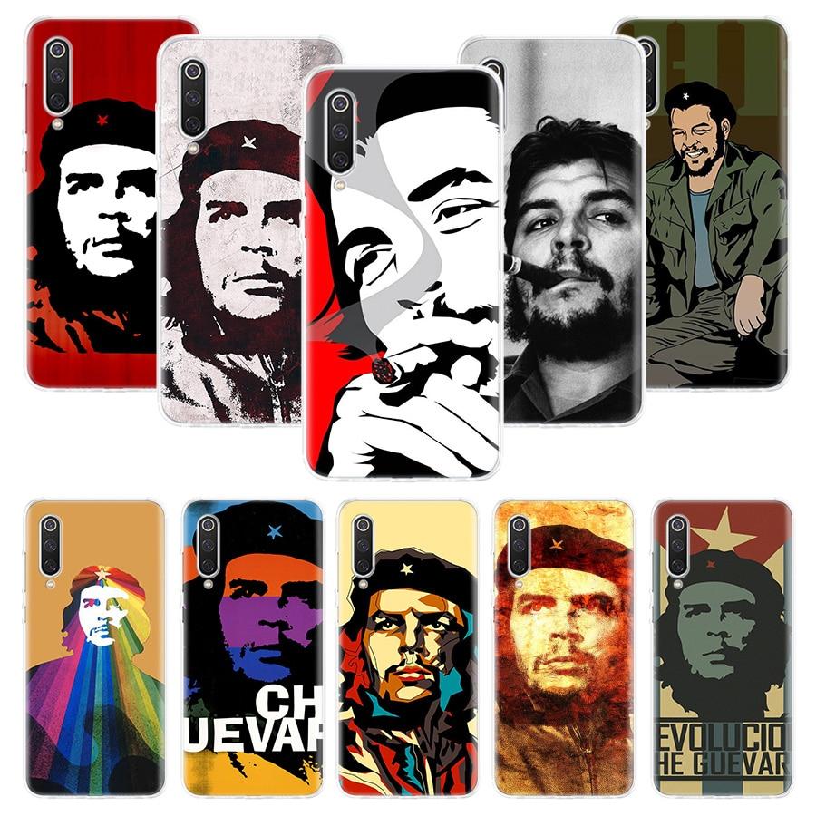 Caso de Che Guevara para Xiaomi Redmi Nota 10 9 9S 8 7 6 8T 8A 7A 6A S2 K30 K20 MI 9 8 CC9 F1 Lite Pro Macio Tampa Do Telefone TPU
