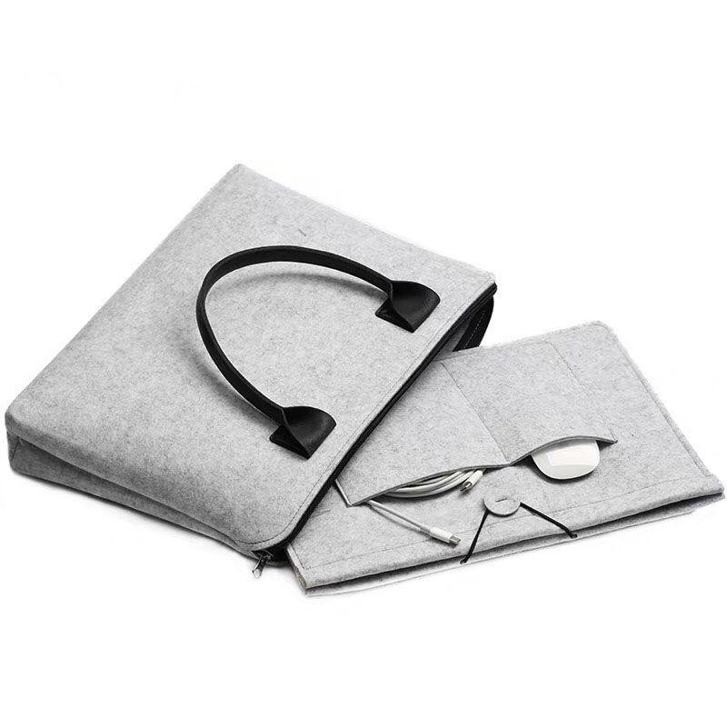لابل ماك بوك اير دفتر حقيبة Pro13.3 15 16 بطانة حقيبة حقيبة الكمبيوتر المحمولة الرجال والنساء 14 بوصة