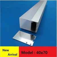 10-20Pcs/Lot 40Inch 1m 40mm Wide Led Aluminium Profile Suspension 3 Side Light Channel Pendant Hanging Office Commercial Bar