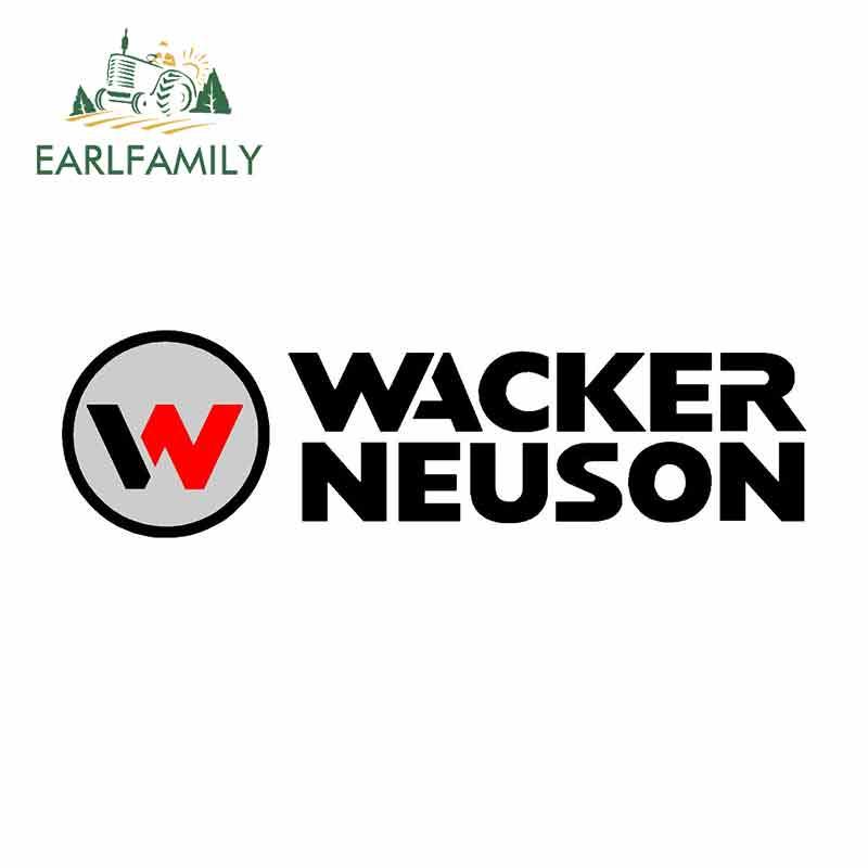 EARLFAMILY 13cm x 3,7 cm divertido Auto pegatinas y calcomanías para Wacker Neuson gráficos Casa de parachoques del coche ventana portátil pegatina