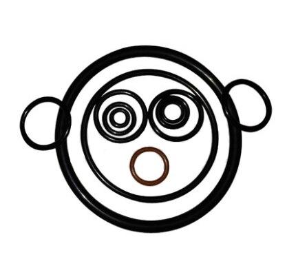 100 pces dingqing o-ring diâmetro interno 6.6/7.6/9/9.5/13.6/14. 8x1.2nbr anel de vedação de borracha resistente a óleo