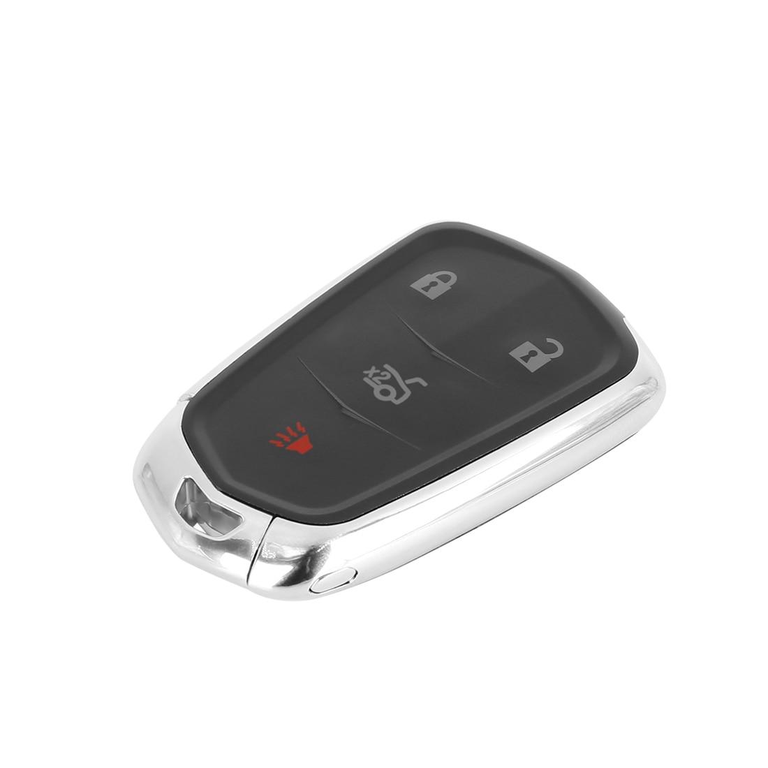 X Autohaux nouvelle voiture clé à distance sans clé housse coque gousset noir voiture clé Case remplacement HYQ2AB pour Cadillac XTS 2015-2018