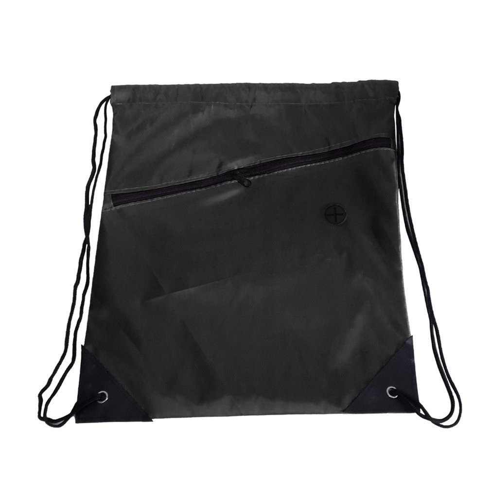 Mochila de gato negro con cordón Universal, Mochila deportiva para gimnasio PE, mochila de natación, bolsa multifuncional con cordón con cremallera