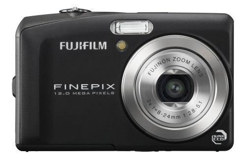 Usado, cámara Digital Fujifilm FinePix F60fd 12MP con Zoom óptico 3x de doble imagen estabilizada