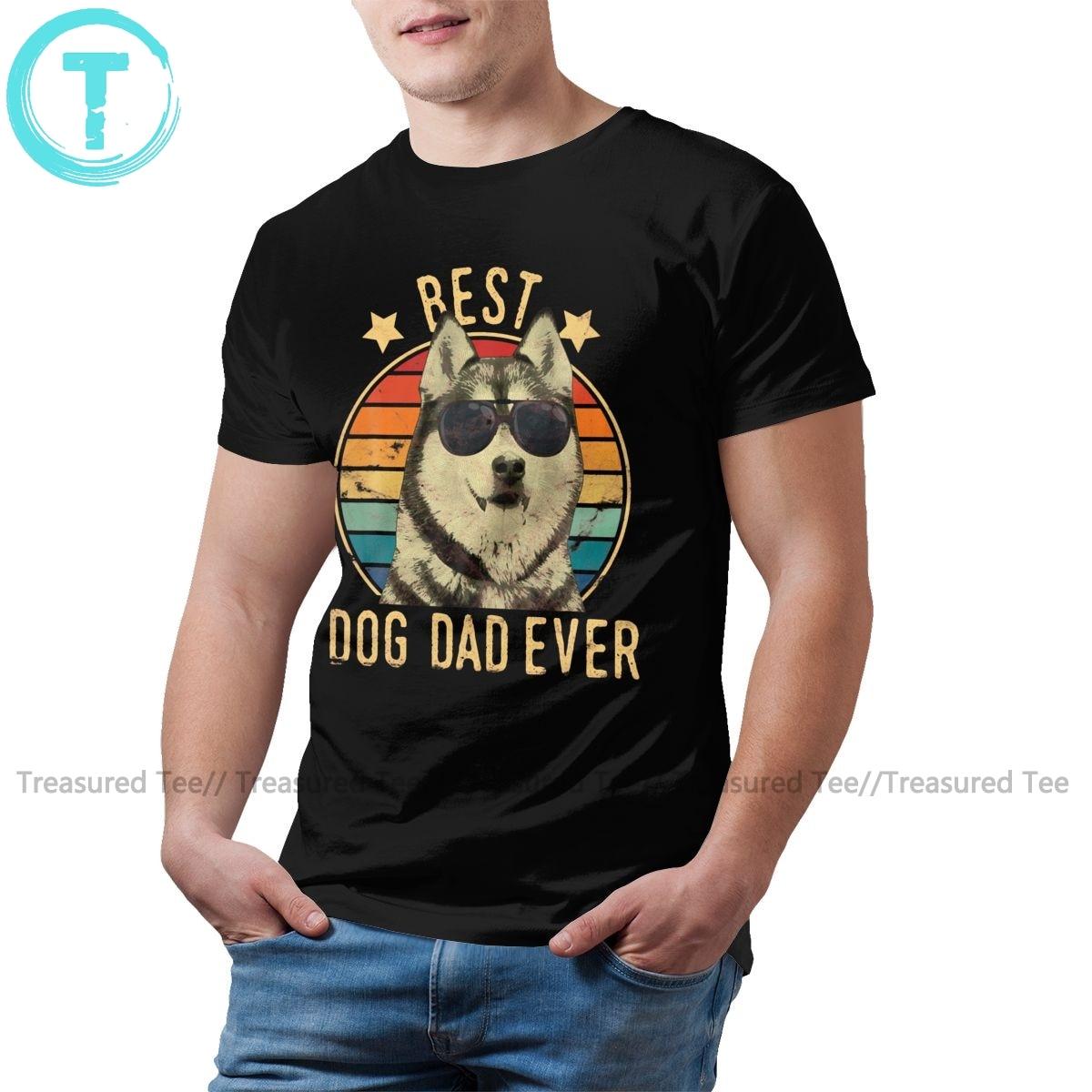 Camiseta siberiana Husky para hombre, mejor perro, papá, nunca siberiano, camiseta Streetwear para hombre, Camiseta con estampado divertido, camiseta 5x