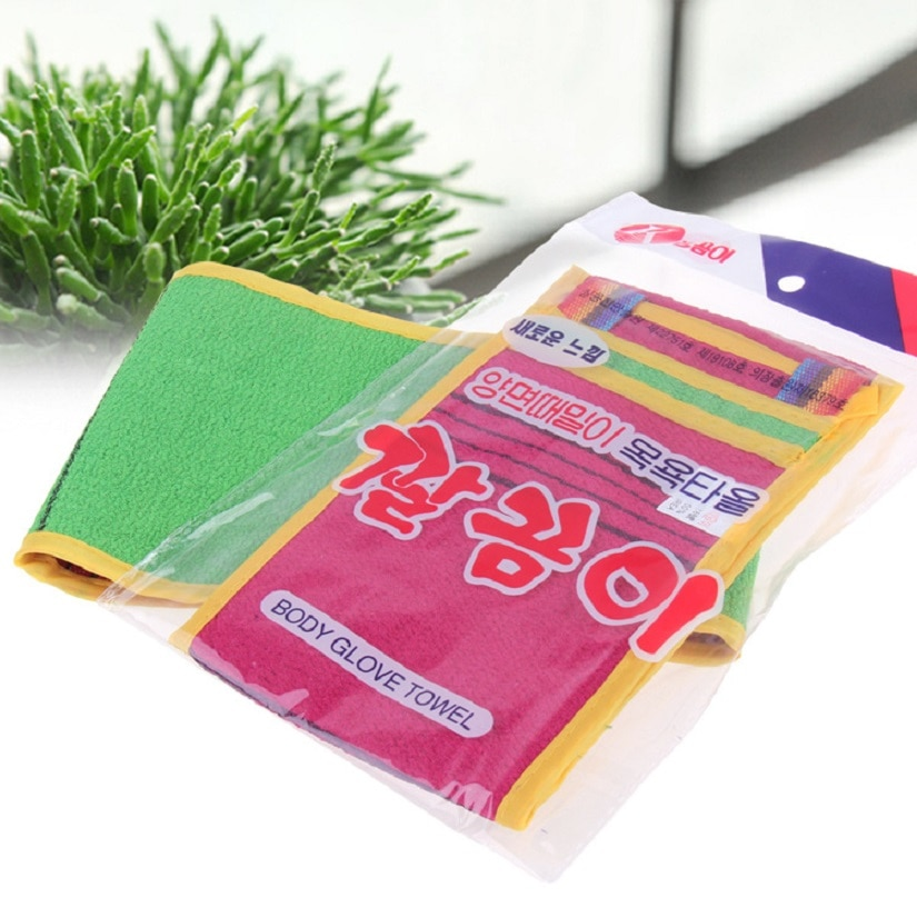 Korean Style Long Bath Rubbing Bath Brush/Towels Bathing Accessories Bathroom Products High Quality