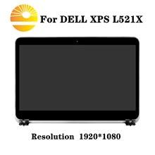 """Pantalla LCD LED de 15,6 """"pantalla completa para Dell XPS 15 L521X P32f Color plata"""