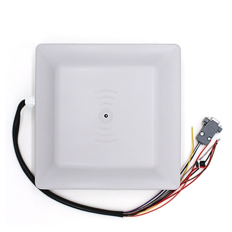 8dbi Antenna RS232/RS485/Wiegand Read 6M Integrative UHF Reader + 50 RFID windshield adhesive tags
