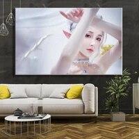 Angel Sweet Girl     toile decorative HD  affiche murale  peinture  affiche danimation  decoration de chambre a coucher