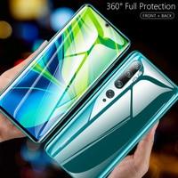 Изогнутая мягкая пленка 100D для Xiaomi Mi Note 10 CC9 Pro Global, Защита экрана для Mi Note 10 Pro 6,47 дюйма, полное покрытие, Гидрогелевая пленка