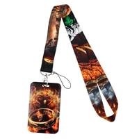 fd0778 movie fashion lanyards for key neck strap for card badge gym key chain lanyard key holder diy hang rope keychain