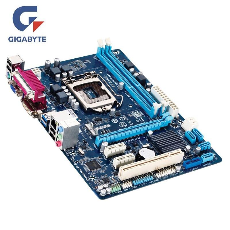Gigabyte Motherboard Intel LGA 1155 DDR3 B75 desktopl USB2.0 USB3.0 SATA3Intel B75 22nm Mainboard