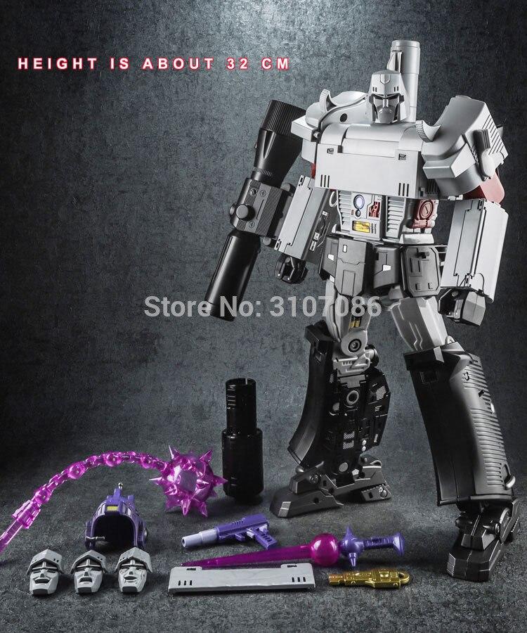 MP36 transformación Galvatron MGTron Ne-01 NE01 MPP36 Modo de pistola Aleación de gran tamaño ampliar colección KO acción figura Robot Juguetes