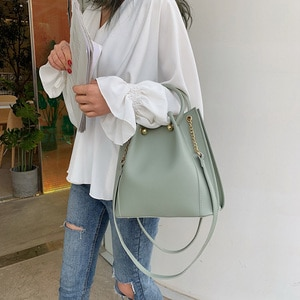 New Fashion Women Handbag Pu Leather Women Shoulder Bag Famous Brand Luxury Designer 2021 Female Ladies Casual Sac a Main Purses