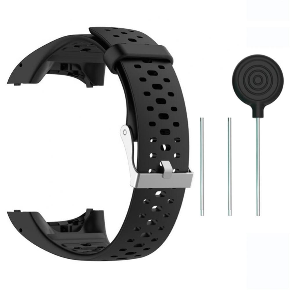 Replacement Silicone Watchband Wrist Strap for Polar M430 M400 Running Watch Wearable Devices Smart Accessories smart watches mykronoz zetielpg wearable devices wrist watch accessories