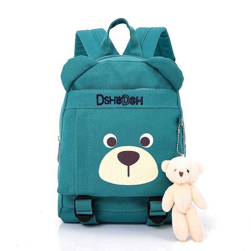 2020 Hot Sale Fashion Children School Bags Cartoon Bear Backpack Baby Toddler kids Book Bag Kinderga