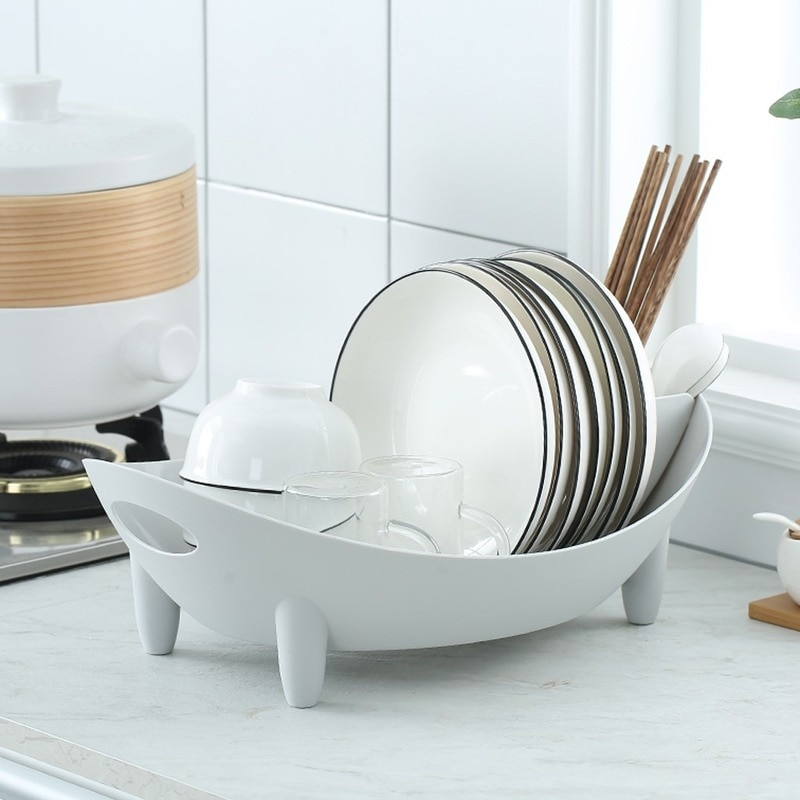 Dish Rack Drain Racks Dry Dishes Tableware Storage Organizer Shelf Cutlery drain rack bowl storage rack#50