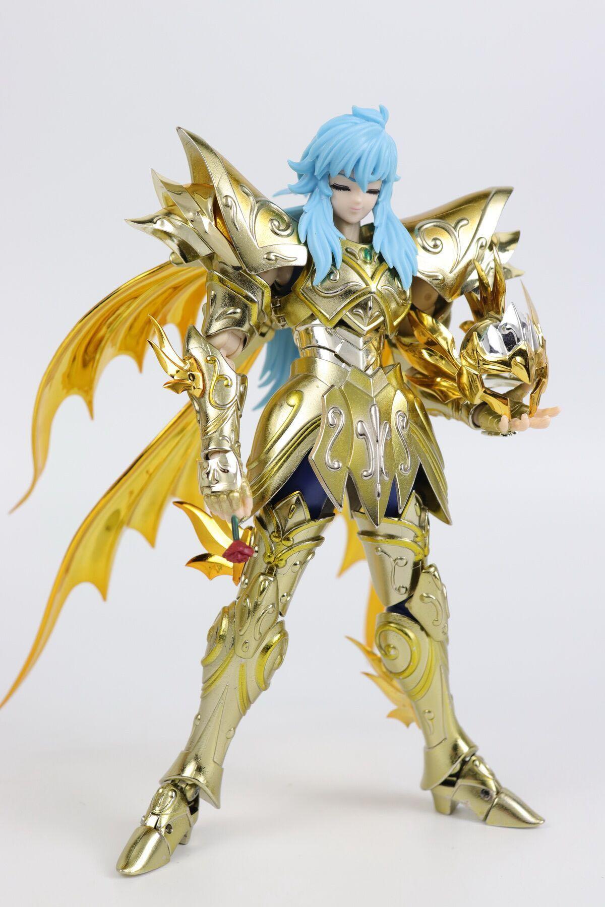 Em estoque CS Model CSModel Saint Seiya Myth Cloth Soul of God SOG ex peixes aphrodite figura de ação