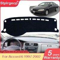 for Honda Accord 6 1997 1998 1999 2000 2001 2002 Anti-Slip Mat Dashboard Cover Pad Sunshade Dashmat Protect Cape Rug Accessories