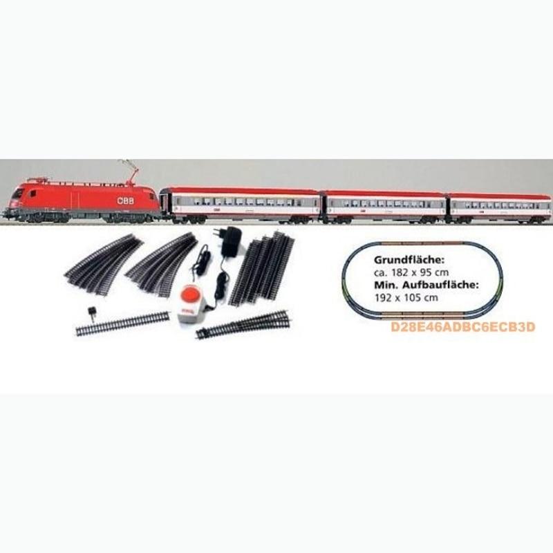 96947 modelo de tren alemán HO 1 87 juego nacional austríaco Trud Tauro