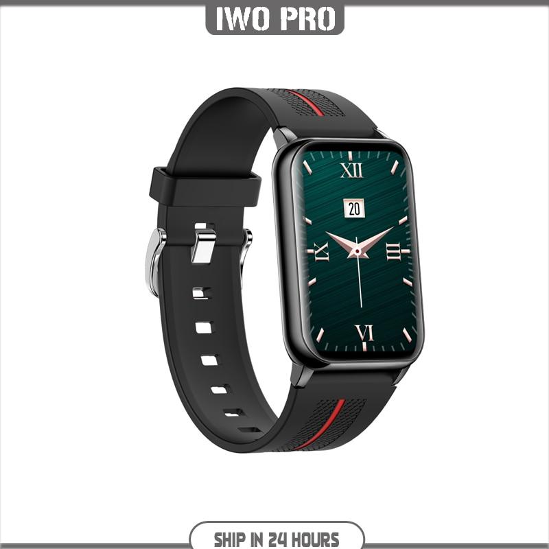Promo IWO PRO H76 Smart Watch 1.57 Inch Hyperboloid Blood Pressure IP68 Long Standby Men's Smartwatch Women HeartRate Fitness Tracker