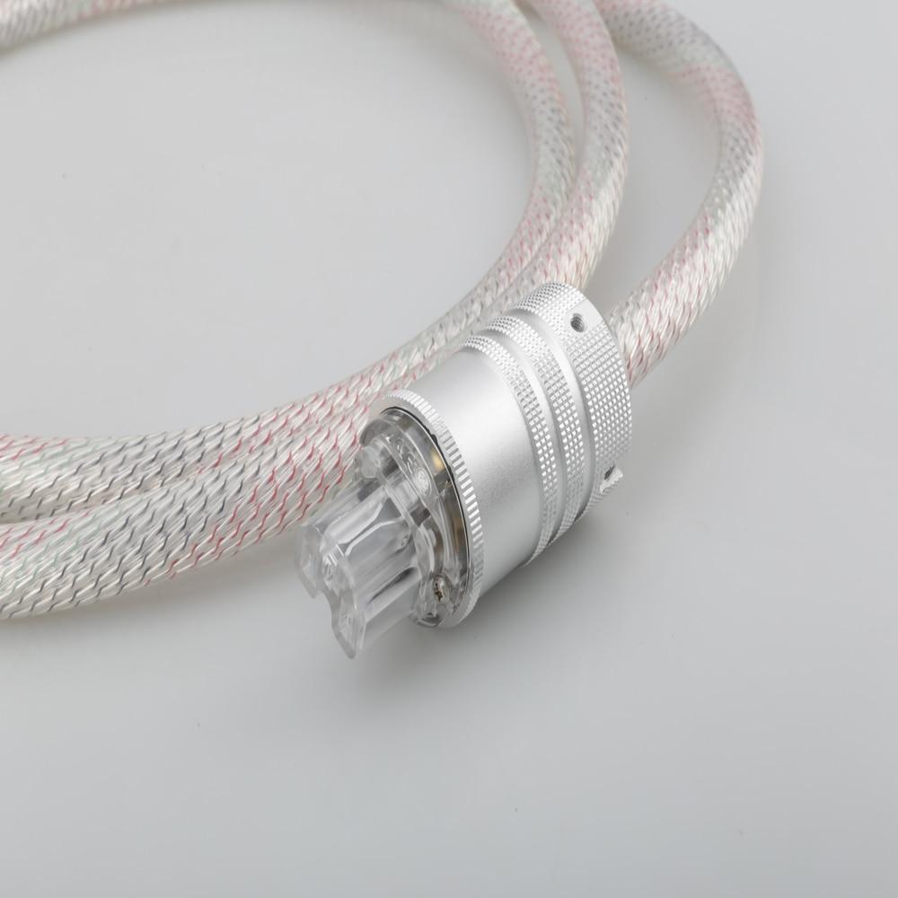 2020 Valhalla de línea de alimentación CABLE de potencia de alta fidelidad 7N OFC CABLE de alimentación con enchufe de la UE amplificador CD decodificador de CABLE de alimentación