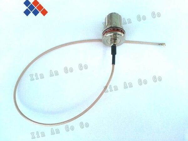 RF موصل N الإناث لرابطة المحترفين/u.FL/IPX/IPEX RF محول كابل مع RG178 30 سنتيمتر