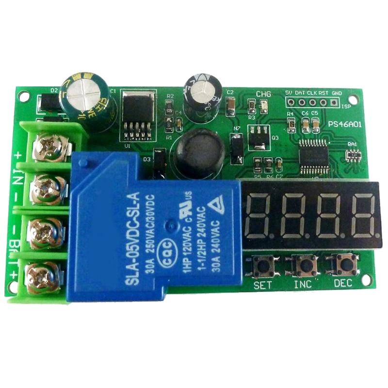 NEW-0-30A 7,4 V 12V 14,8 V 24V 48V plomo-ácido Ni-Cd Ni-MH Li-ION li-po batería de litio módulo de protección de carga