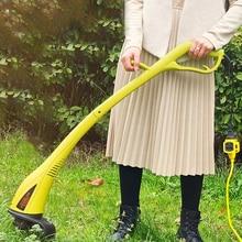 Tondeuse à gazon électrique amovible, Double interrupteur de sécurité, Anti-accident, Machine de désherbage, jardin, maison