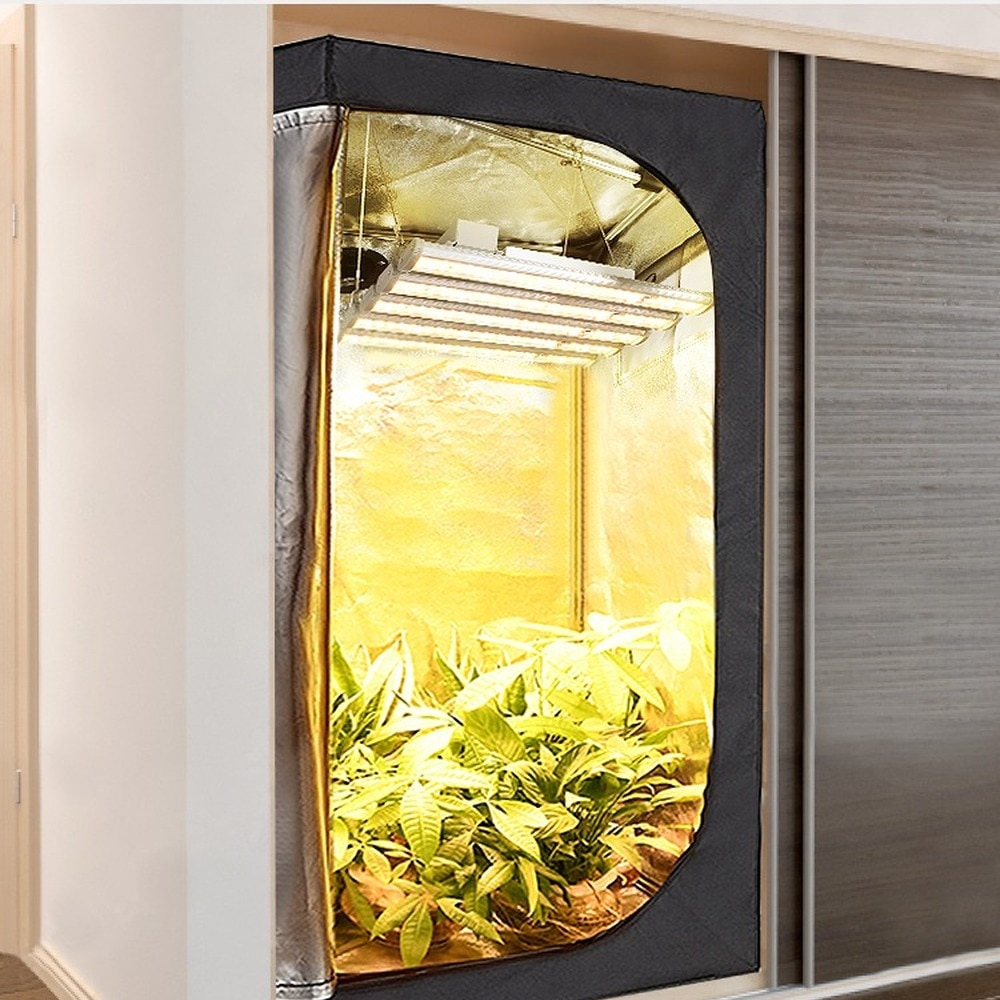 Led Complete Grow Tent Kits Growing Lamps Full Spectrum Greenhouse Best Planting Tent 150W Hydroponic Indoor enlarge