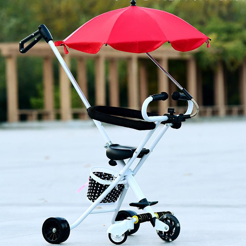 Infant Baby Stroller Pushchair Pram Umbrella Sun Shade Canopy Cover Parasol