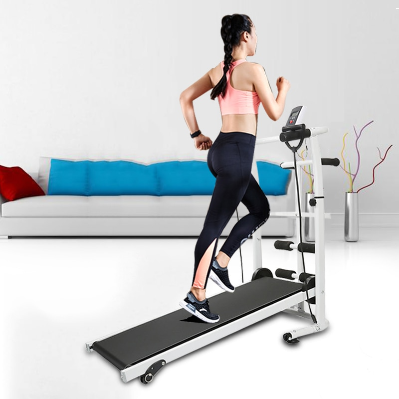 2021 New Treadmill Mechanical Treadmill 3 In 1Multifunctional Fitness Treadmill House Indoor Silent Fitness Equipment Treadmill k starf treadmills multifunctional foldable mini fitness home treadmill indoor exercise equipment gym folding house fitness