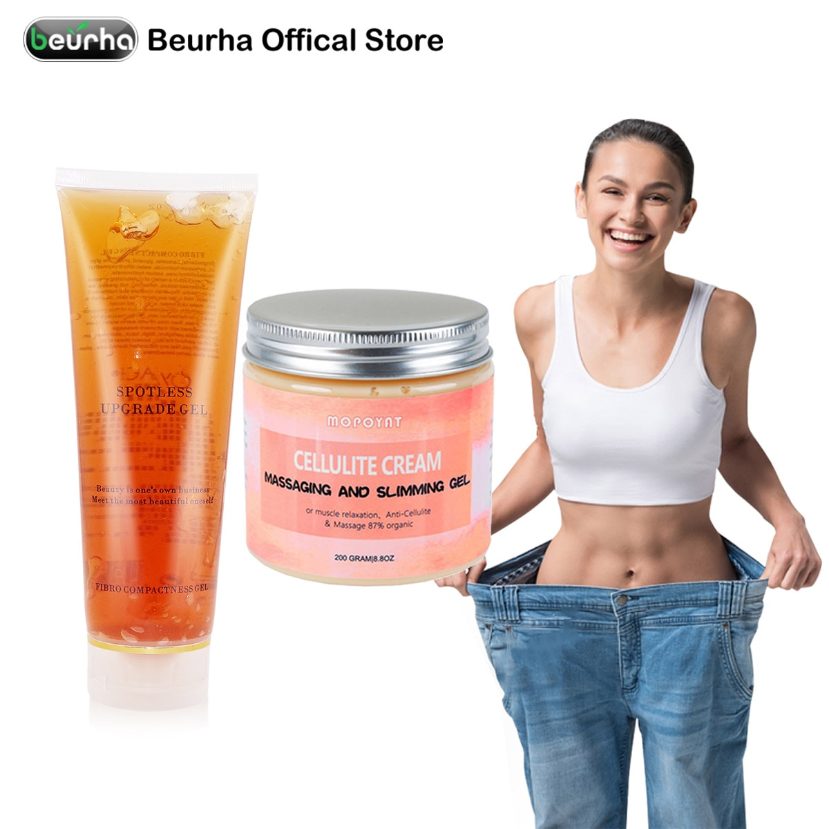 1pc slimming Creams product gel Ultrasonic RF Anti Cellulite Fat Burning Leg Body Waist Weight Loss Lifting Tighten Rejuvenation