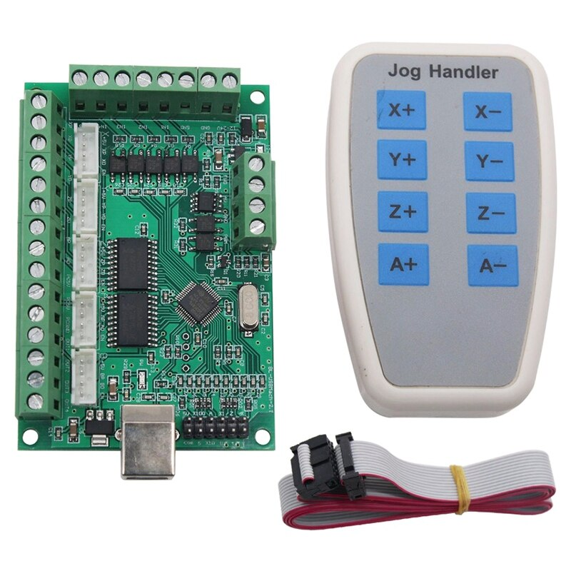 BHTS-5 eixos mach3 cnc breakout board 1000 khz usb cnc cartão de controle movimento máquina gravura