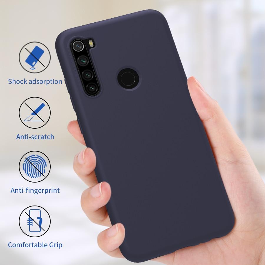 Redmi Note 8 Pro Case Capa NILLKIN Caso Silicone Suave de Volta Caso para Xiaomi Redmi Nota 8 Note8 Versão Global 6.3/6.53