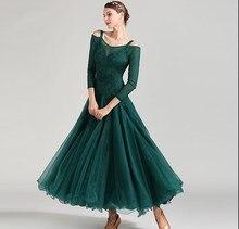 Neue ballroom dance wettbewerb kleid dance ballsaal walzer kleider standard tanz kleid frauen ballsaal kleid 1875