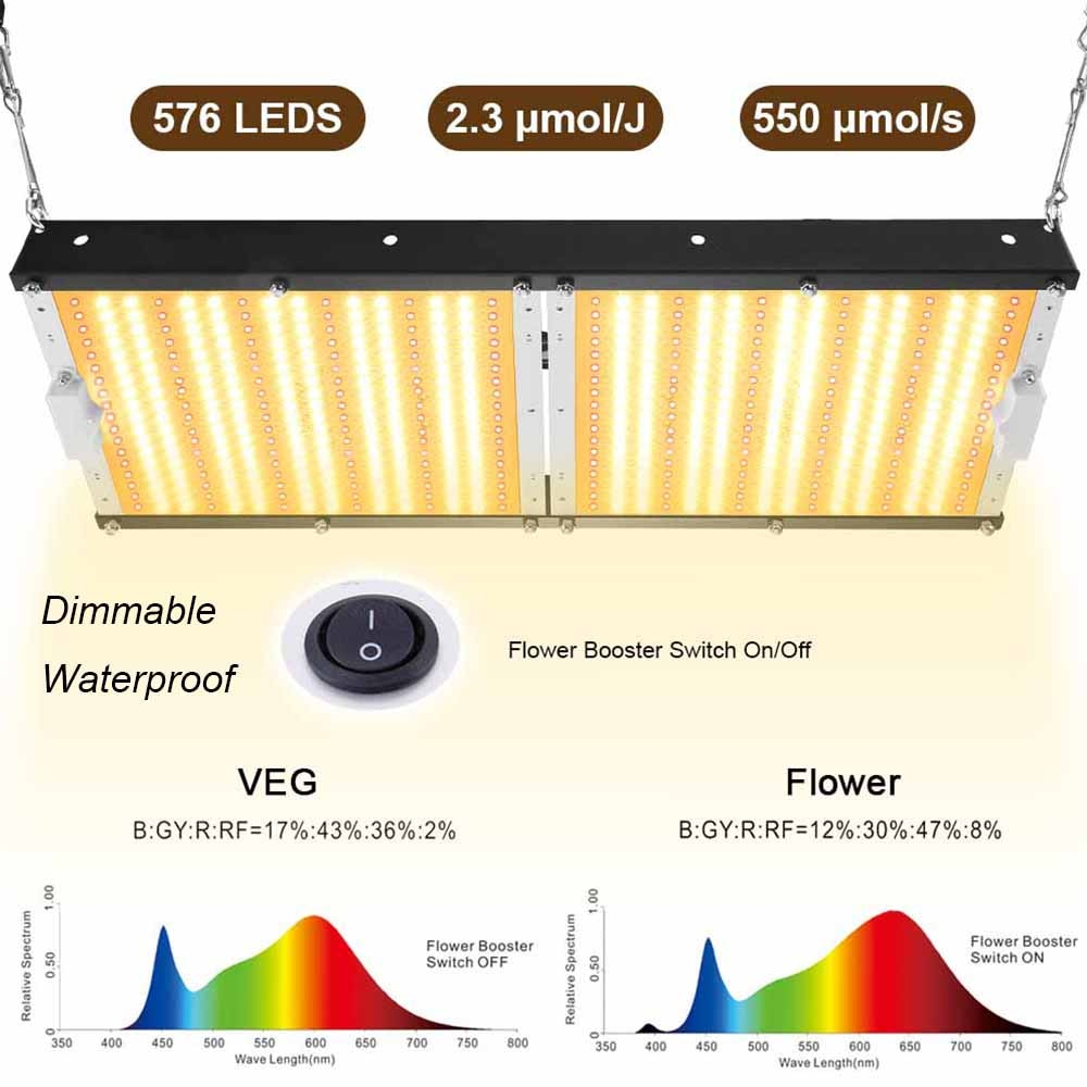 Carambola 1500W/3000W/6000W LED Dual Full Spectrum Grow Light Waterproof Dimmable Plant growth Lamp Indoor Lighting VEG Flower enlarge