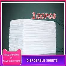 100pcs 80x180cm Disposable Bed Sheets Bedroom Massage Table Sheets Beauty Salon Spa Travel Hotel Thi