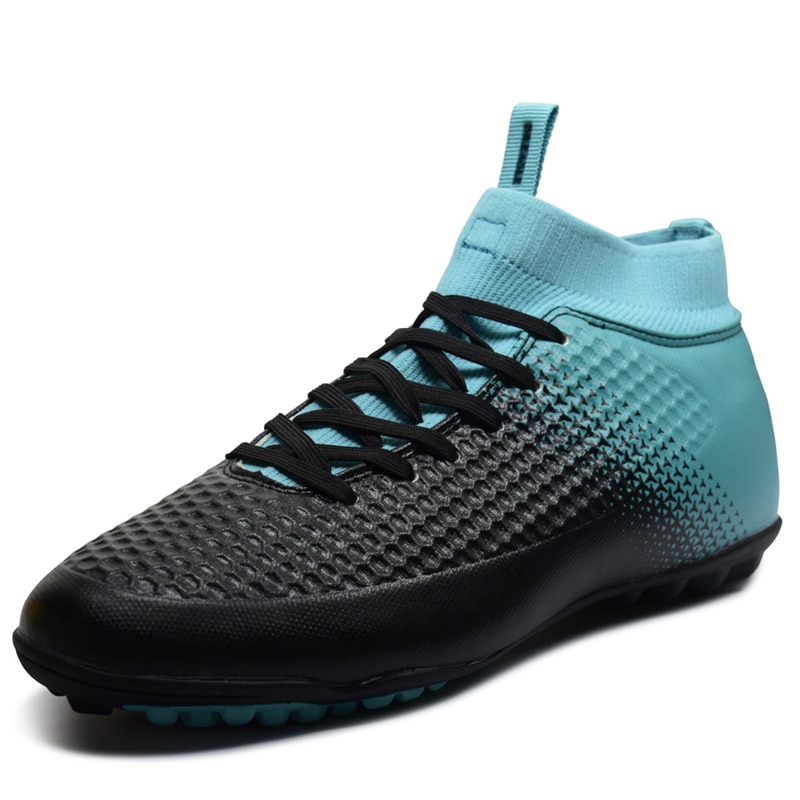 Zapatillas de fútbol de tobillo alto para hombre, zapatillas de fútbol de interior profesional, botas de fútbol antideslizantes para hombre, zapatillas deportivas para hombre, Chuteira, novedad
