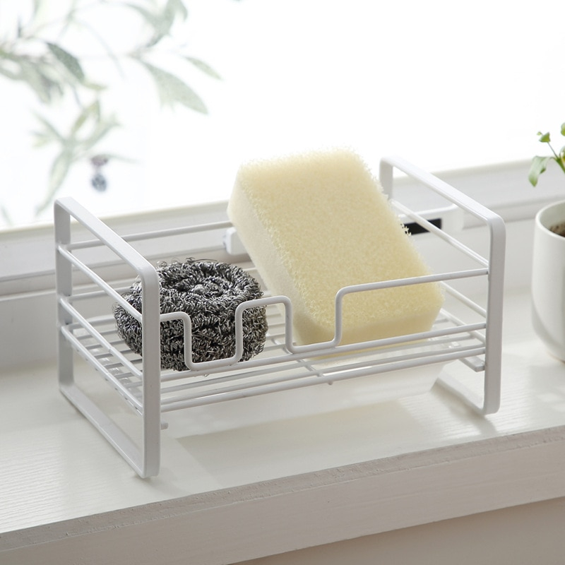 Soporte de esponja para jabón, soporte de almacenaje con ranuras, organizador para...