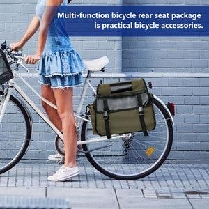 MTB Bag Pack Bicycle Accessories MTB Bike Top Tube Shell Cycling Pouch Shelf Bag Mountain Bike Storage Trunk Bag