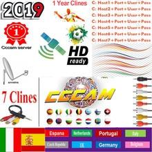 1 an CCcams Europe Cline carte sharingServer Mgcam Cline pour VU + Samsat Starsat Satellite TV récepteur via usb wifi
