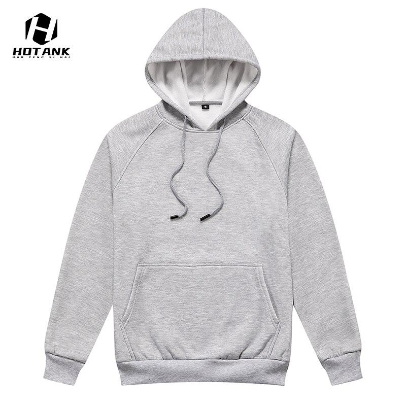 Hoodies Men Solid Color 2021 New Hip Hop Sweatshirts Men Japanese Streetwear Long Sleeve Autumn Loos