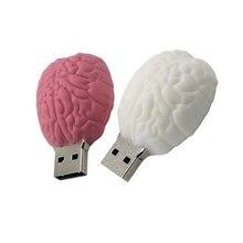 Classique coeur Usb clé Usb cerveau clé Usb 512GB clé Usb 256GB carte mémoire U disque 128G 2.0 stylo lecteur mignon cadeau livraison gratuite