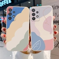 soft case for samsung a32 case silicone funda samsung a51 a52 a50 a12 a31 a71 a21s a72 a02 s21 plus ultra cover lens protection