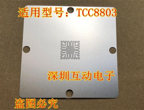 100% Original Novo 2 pçs/lote Stencil para TCC8803.. IX35 BGA