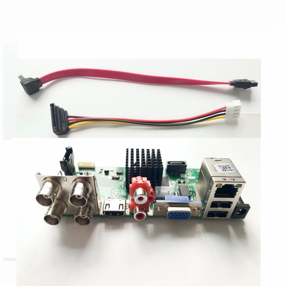 4-канальный видеорегистратор 5MP-N, 5 в 1, AHD, CVI, TVI, CVBS, 4 канала, плата CCTV DVR, гибридный NVR-видеорегистратор с датчиком движения, 2 Мп, 4 МП, 5 МП, AHD-каме...