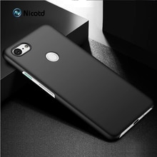 Nicotd Case for Google Pixel 3XL 3 2 Full Cover Luxury hard Plastic Matte PC Cell Phone Cover for Go