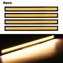 Car LED Light Bright Waterproof COB Ultra-thin Adhesive Power Innovative Lamp Bulb